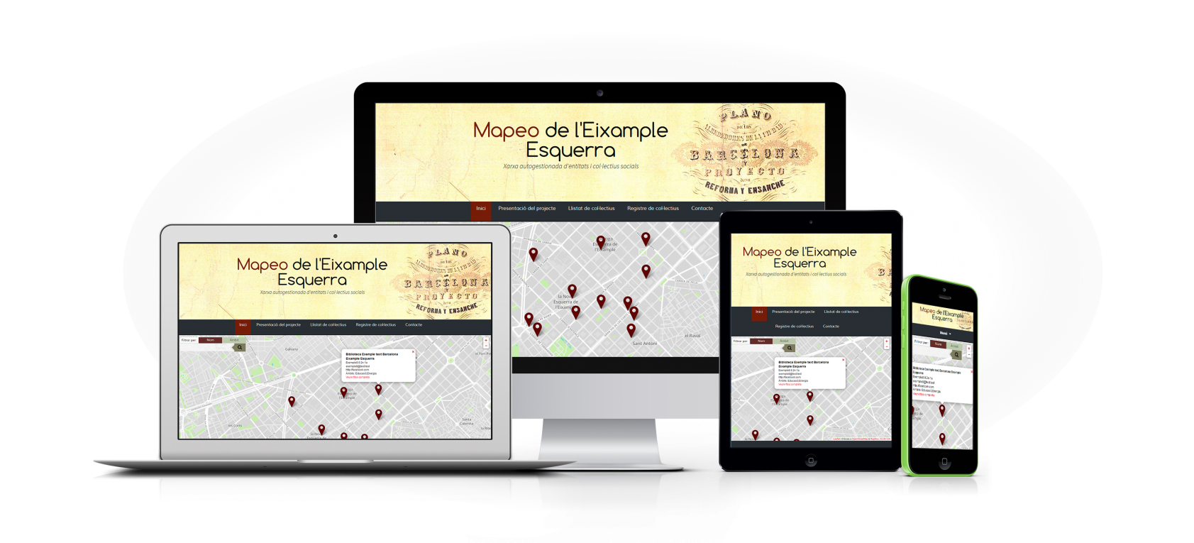 Mapeo y Redes - Responsive